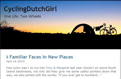 cycling dutch girl bike blog